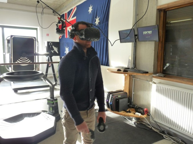 Normandy victory museum VR