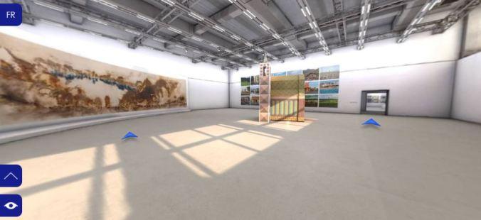 Fondation Cartier_expo Shanghai_vue d'ensemble