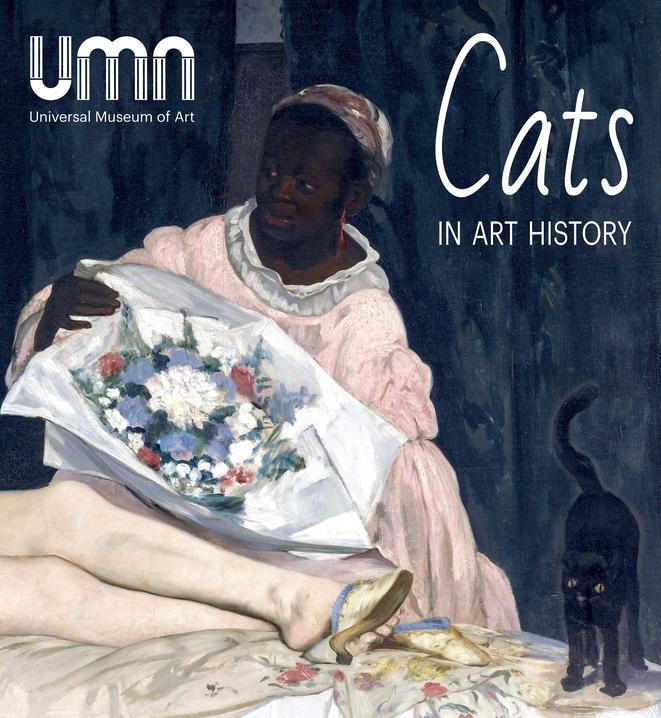 expo les chats dans l'histoire de l'art_affiche