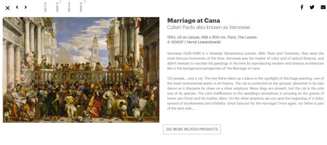 expo les chats dans l'histoire de l'art_noces de cana